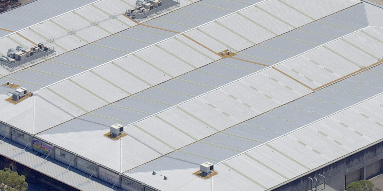 Polycarbonate roofing Industrial sydney North shore
