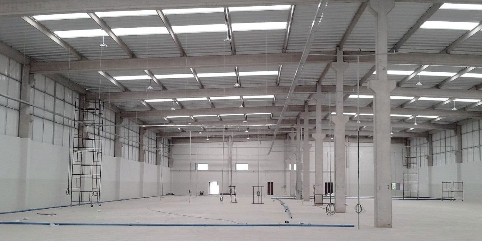 Commercial Roofing Sydney skylights clear panels