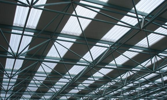 big 6 corrugated plastic perspex roof sydney