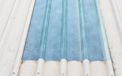 Applications of Clear Fibreglass Roofing Panels