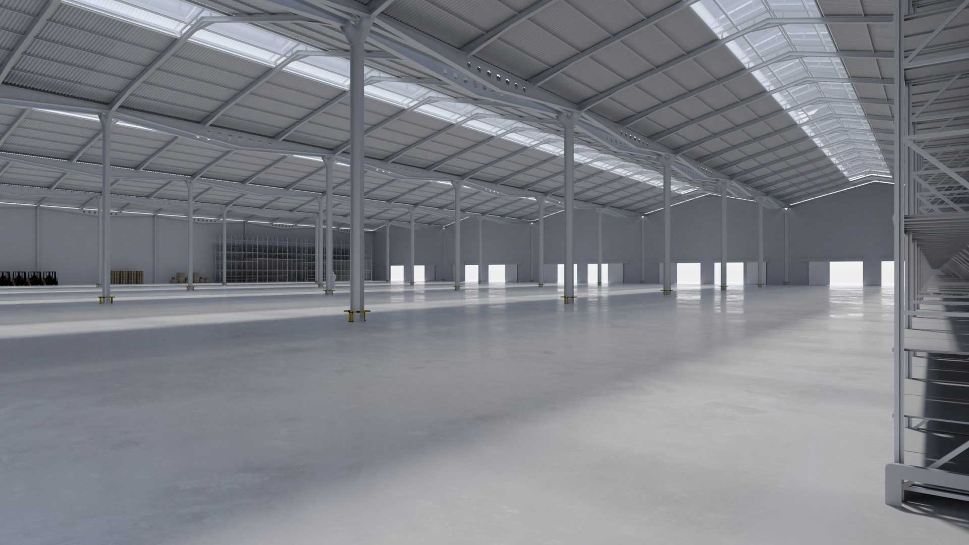 clear roofing panels warehouse factory sydney nsw