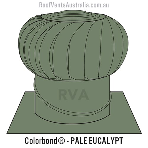 pale eucalypt roof vent whirlybird