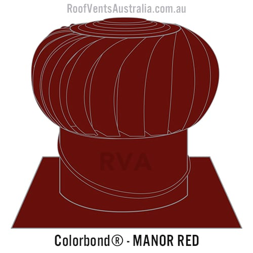 manor red roof vent whirlybird