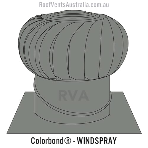 roof vent whirlybird colorbond windspray sydney