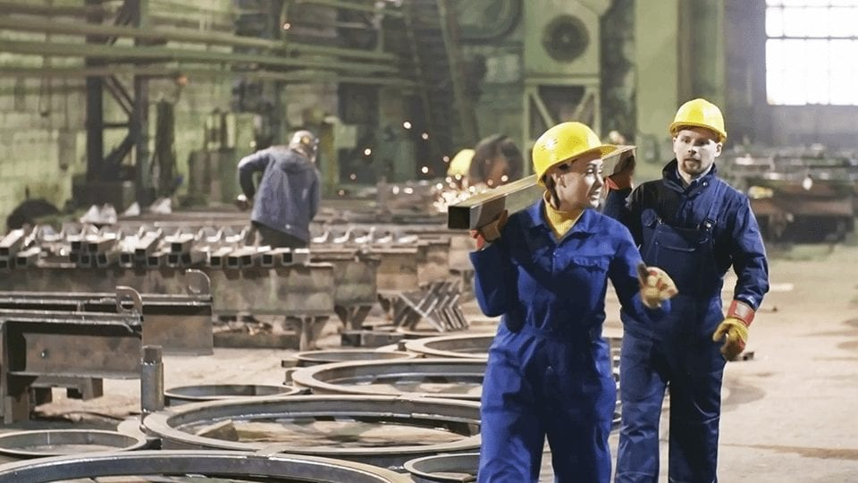 Workers in Industrial Environment