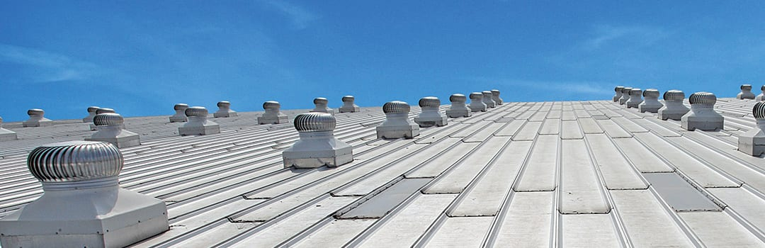 Commercial roof vents