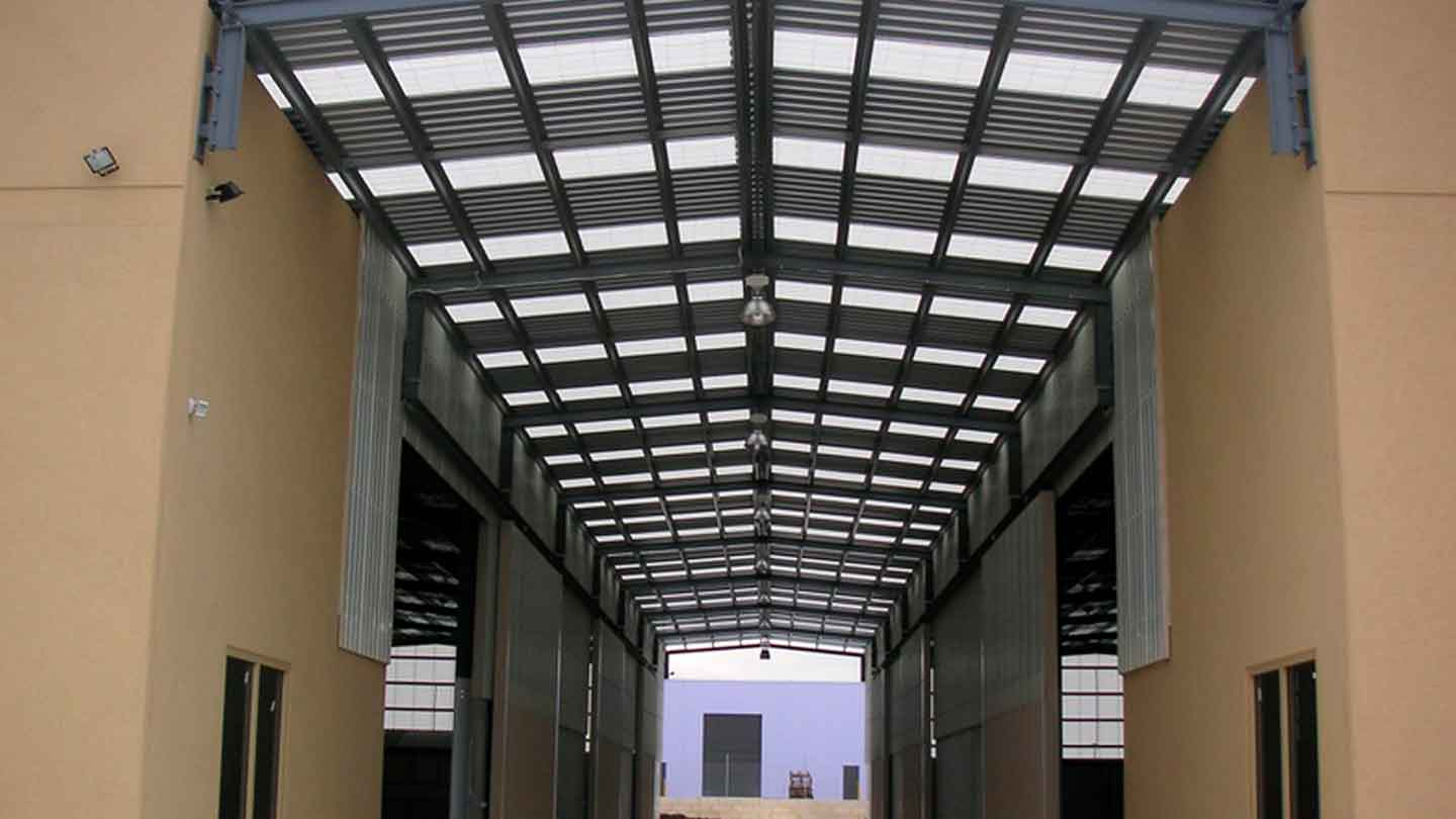 ampelite commercial skylight panels sydney