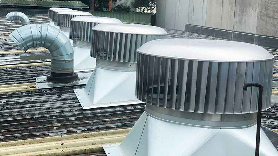 industrial roof vent fans