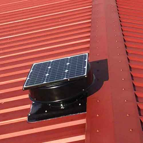 solar ark roof vent review