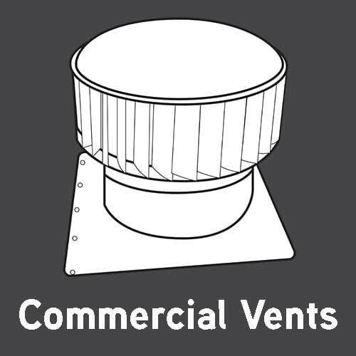 commercial vents - industrial whirlybirds
